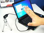ハンドサインでPC操作を可能にする赤外線カメラ「freemo」