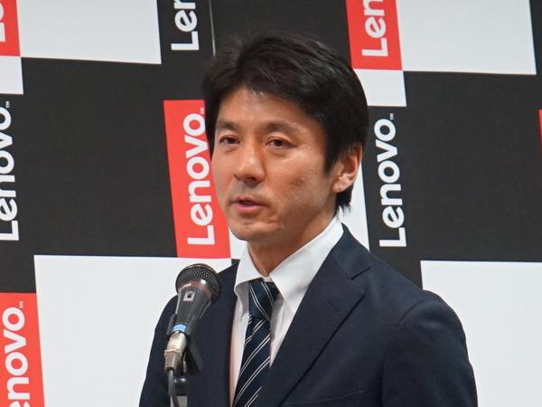 レノボ・ジャパンで教育市場を担当している渡辺守氏
