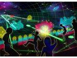 ラグナシアで「スペースインベーダー」の世界に入り込む「ARKINVADERS」がオープン