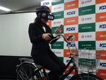 VRで危険性を体験できる「自転車ながらスマホ」撲滅プロジェクト