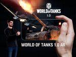 スマホで戦車をグリグリ観察! 「World of Tanks」ARアプリが登場