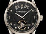 AC/DCの機械式時計をスイス高級時計レイモンド・ウェイルが発表