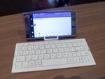 外付けワイヤレスキーボードをXperia XZ Premiumで使ってみた