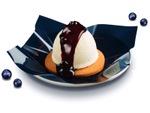 スシロー「チーズアイス クッキー&ブルーベリー」