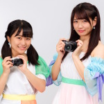 アプガ(2)リーダーの高萩千夏と3期生の島崎友莉亜がカメラでガチ対決!