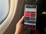 JALの機内Wi-FiサービスをXperia XZ Premiumで使ってみた