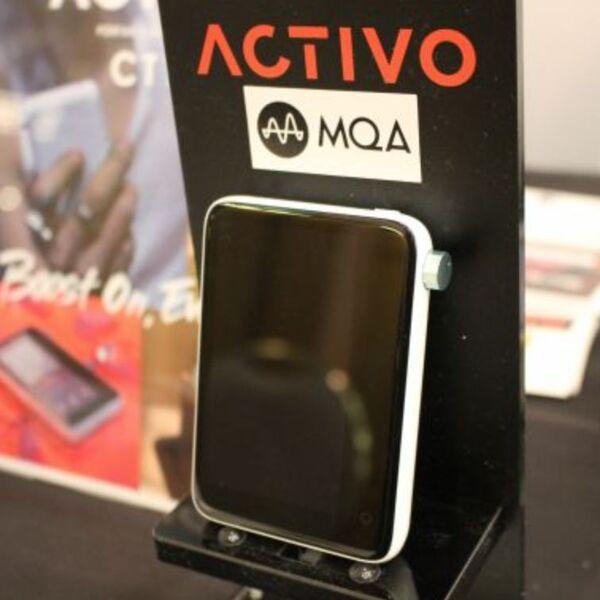 ヘッドフォン祭でみんなに触ってほしいDAP「ACTIVO CT10」