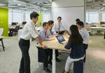 ICTだけなく、機能的で感じのよい空間が会議を盛り上げる!