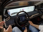 走る巨大タブレット、テスラを超えた未来の中国製コンセプトカー「Byton Concept」