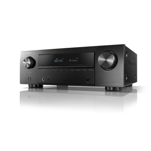 デノン「AVR-X550BT」(3万5000円)。実用最大出力140W、HDMI入力5/出力1