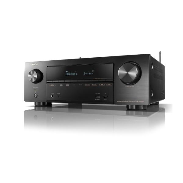デノン「AVR-X1500H」(5万9500円)。実用最大出力175W、HDMI入力6/出力1