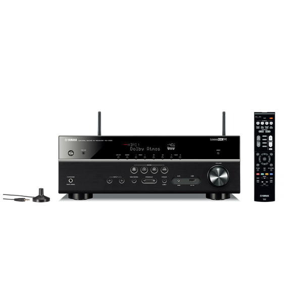 ヤマハ「RX-V585」(7万3000円)。実用最大出力135W、HDMI入力4/出力1