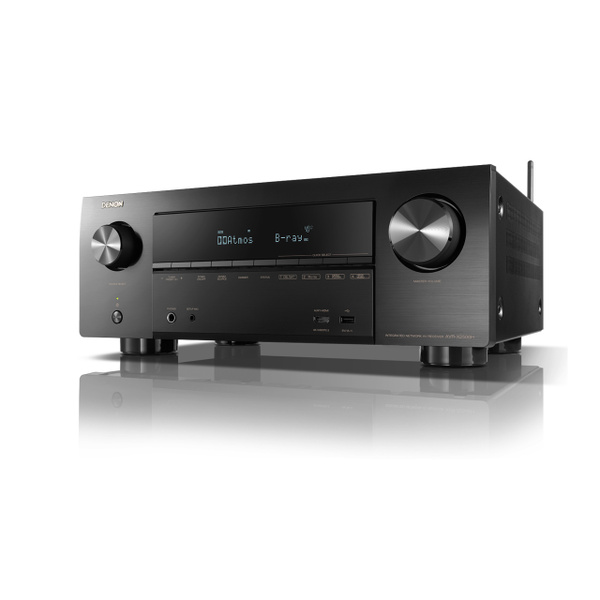 デノン「AVR-X2500H」(9万円)。実用最大出力185W、HDMI入力8/出力2