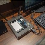 LTEモジュール搭載のデスクトップPC!? Shuttleが「DL10J」を展示