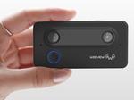 手のひらサイズの3Dカメラで手軽に立体撮影