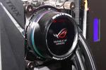 ASUS、初の水冷CPUクーラーなど自作パーツを台湾で発表