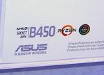 未発売のAMD B450チップセット搭載マザーをCOMPUTEXで確認