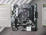 Mini-ITXなど最多5モデルのAMD B450マザーを展示したASRock
