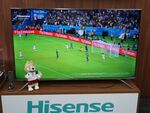 ハイセンスが17万円の65V型4Kテレビを発表 W杯効果で認知度アップ目指す
