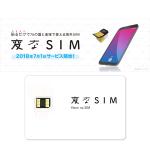 H.I.S.モバイル、SIMカードに貼って海外で使える「変なSIM」