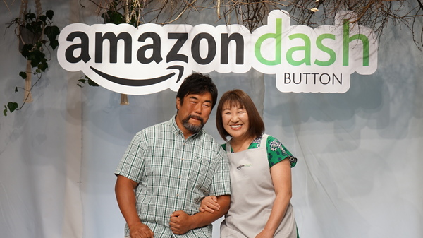 ゲストの北斗 晶さんとサプライズゲストの佐々木健介さん