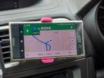 Xperia XZ Premiumを3点セットと組み合わせてカーナビとして使う