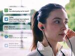 メールやSNSなどの通知を確認できるワイヤレスイヤフォン