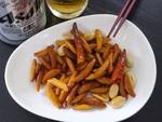 柿ピーを炒めるだけで安くておいしいビールが進む簡単おつまみに!