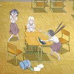 【2018夏アニメ】女子中学生3人のコメディ『あそびあそばせ』にオリジナルロボット作品『プラネット・ウィズ』