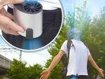 蒸れるシャツの中を快適に! USB充電式扇風機「腰ベルトファン」
