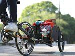 大きい荷物も自転車で運べるサイクルトレーラー