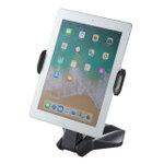iPadも挟める縦横対応のタブレットスタンド