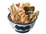 【本日発売】てんや「煮穴子・めごちの海鮮天丼」