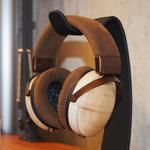 オンキヨー、和楽器の桐を使った高級ヘッドフォン