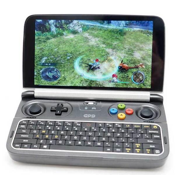 超小型PCでレトロゲームや美少女ゲームを寝転がって楽しめ!「GPD WIN2」