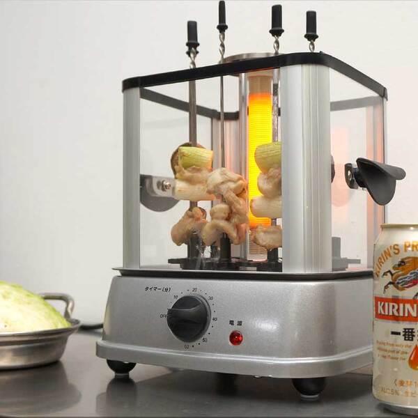 酷暑こそ、自宅で飲み屋の味が楽しめる「自家製焼き鳥メーカー」だ