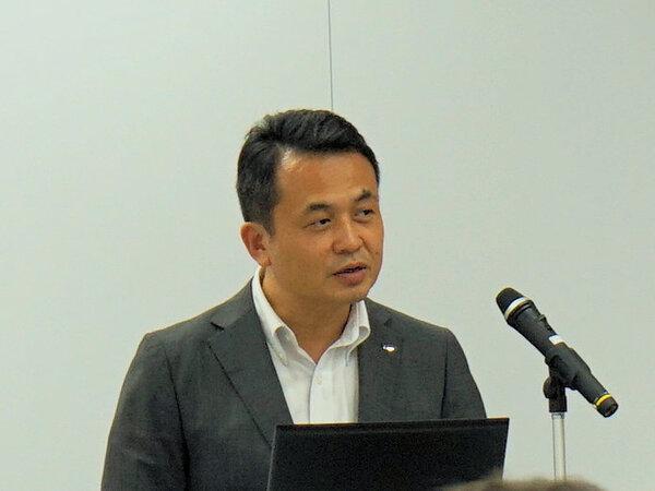 スマートTVシステム事業本部の宗俊昭広氏
