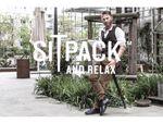 アウトドアなどに最適! ポケットサイズの折り畳み椅子「SITPACK」
