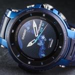 カシオPRO TREK Smartが小型化 新スマートウォッチ「WSD-F30」