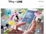 LINEでミッキーと友だちに!「Disney × LINE」の使い方解説