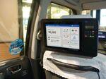 クレカや交通系ICなど複数決済できるタクシー後部座席タブレット