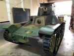 九五式軽戦車の里帰りプロジェクトに寄付をしてみました