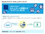 AI技術とオンサイト対応を組み合わせたセキュリティー「RICOH サイバーセキュリティパック」