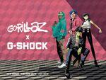 G-SHOCKが「Gorillaz」とパートナー契約 PVも公開