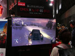 NVIDIA BFGD準拠の65型4KHDRディスプレーがTGSの日本HPブースで日本初展示