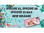アプリで作るオリジナルケース制作「デザインケース」、iPhone XS/XS Max/XRに対応