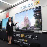 シャープ、世界初の8Kチューナー内蔵テレビ「AQUOS 8K」