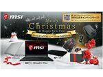 MSI、クリスマスキャンペーンを開催