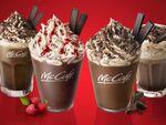 マックカフェ チョコづくしのドリンク4種