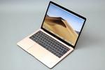 アップル「MacBook Air」のゴールドは見た目麗しく触り心地も極上